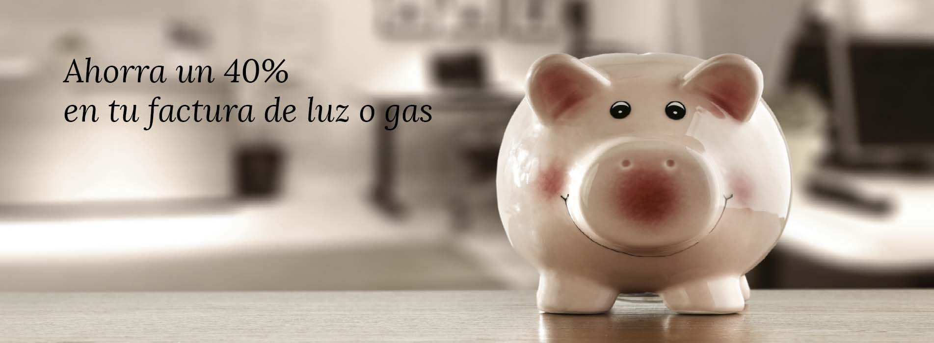 Ahorra en factura luz y gas