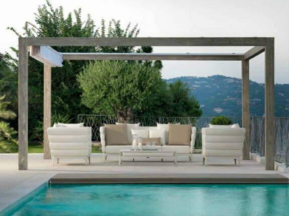 P rgolas para jard n ideas para el descanso al aire libre - Pergolas minimalistas ...