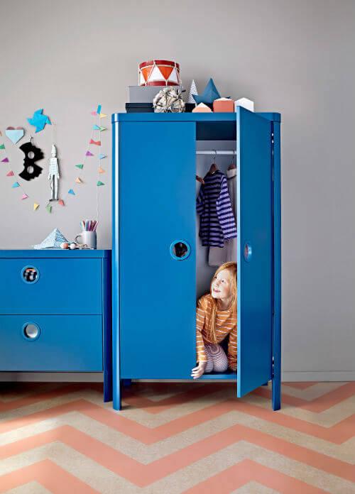 Muebles almacenamiento habitacion niños