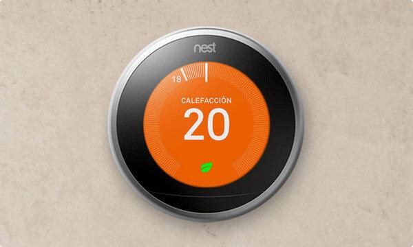 nest termostato inteligente ahorrar factura luz