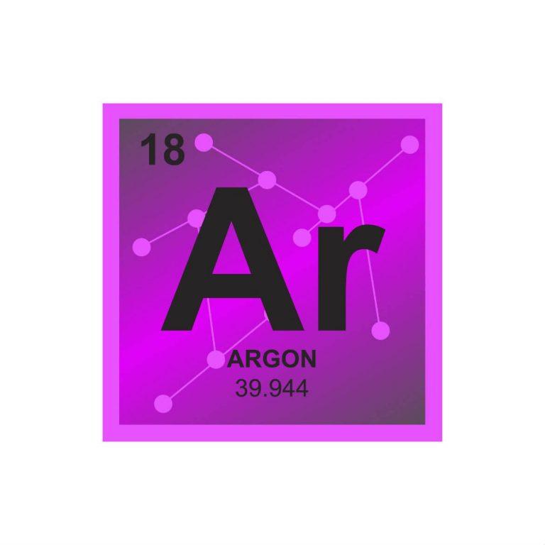gas argon