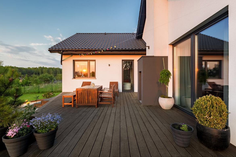 Solucion de almacenaje terraza