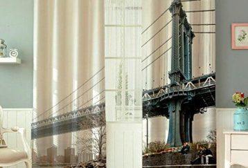 Cortinas puente Manhattan
