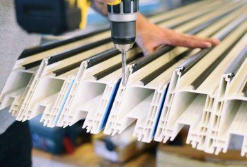 perfilería de PVC reciclaje